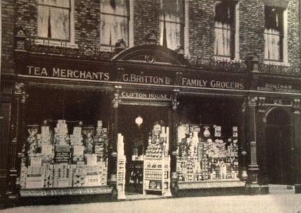 Late 19th century grocers' shop