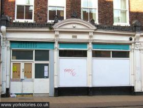 Shabby storefront