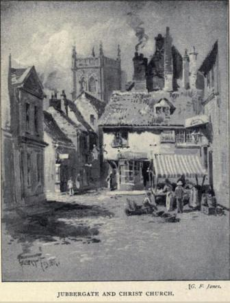 19th century sketch, York