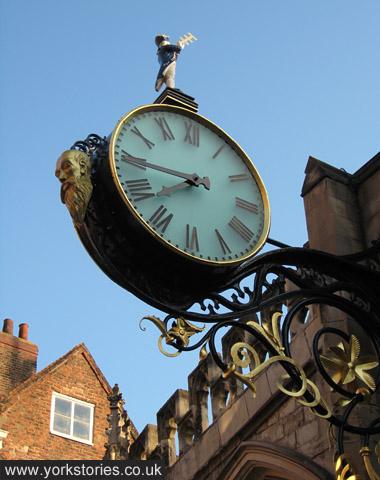 Grand street clock
