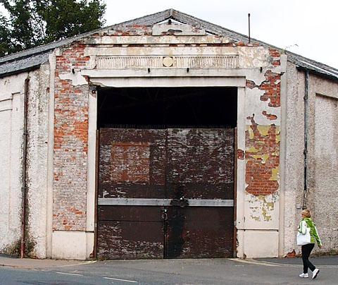 Airspeed factory on Piccadilly, aka Reynard's Garage/'that old eyesore'