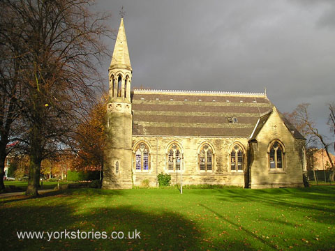 Victorian chapel, gothic style
