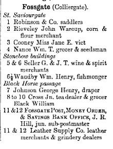 Street directory, 1895