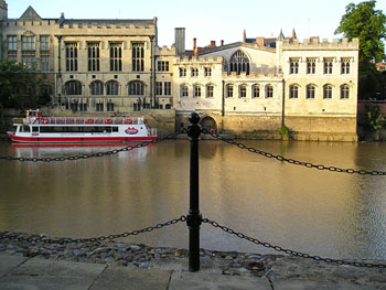 Guildhall and York Boats, from opposite river bank, summer 2005