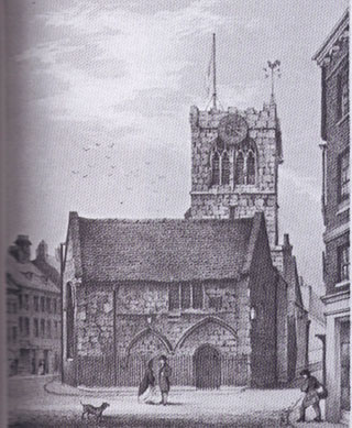 Illustration of church, York