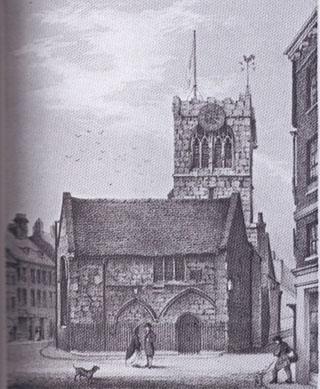 Illustration of church, York