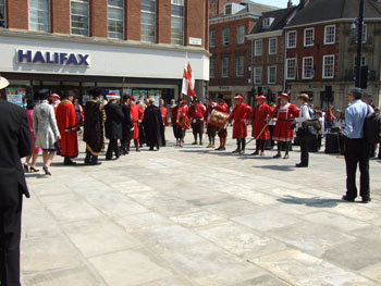 Mayoral procession, 24 May 2012