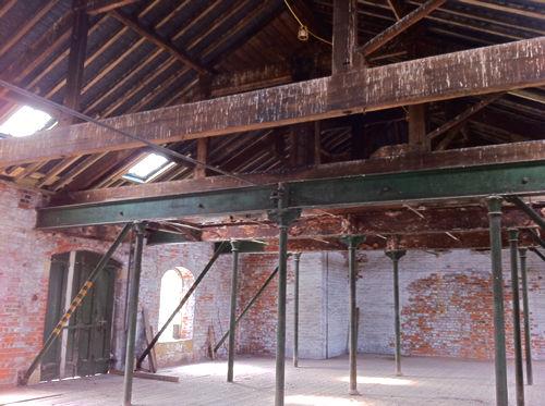 Bonding Warehouse, interior view 2 – June 2011. Photo: Graham Stewart