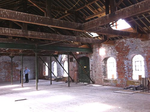Bonding Warehouse, interior view 3 – June 2011. Photo: Graham Stewart