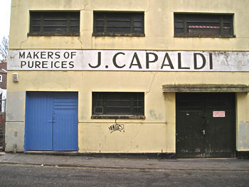 Capaldi ice cream factory, December 2007