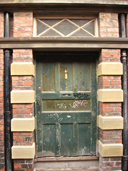 Fine old doorway