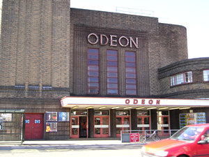 Odeon cinema, front view