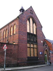 St Barnabas school – landmark building