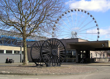 Big wheel, next to the National Railway Museum