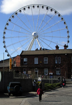 Big wheel – over the Arc Light centre