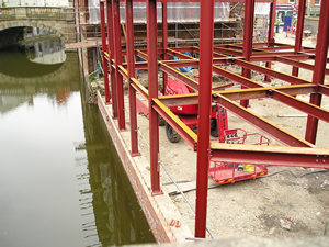 Foss Bridge House development