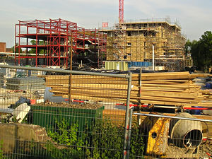 Heworth Green development – view