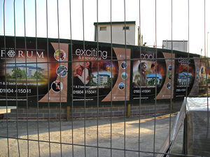 Ads for the Forum, Heworth Green