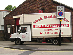 York Bedding Company van