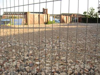 Demolition debris, Hungate area