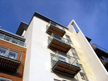 Architectural details, new development, Hungate
