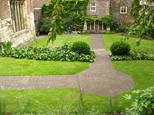 Garden, Merchant Adventurers' Hall