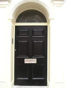 Front door, 25 Bootham, 2006
