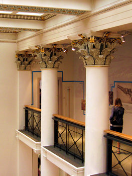 Yorkshire Museum interior – decorative details