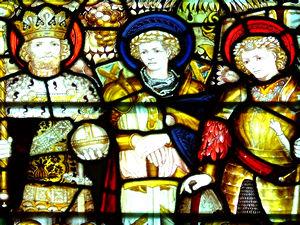 All Saints' Pavement, east window