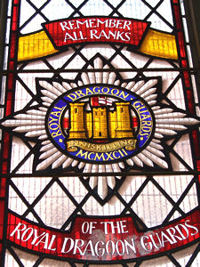 Royal Dragoon Guards window