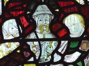 14th century window, All Saints', Pavement