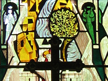 Alne church – 1950s stained glass