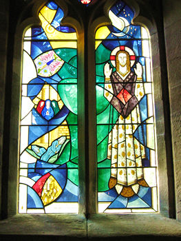 Alne church – J A Kay memorial window