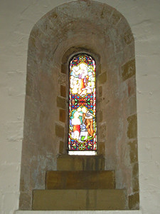 St Felix, window detail