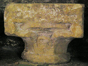 Waterleaf capital, circa 1180