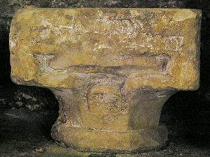 Waterleaf capital, circa 1180