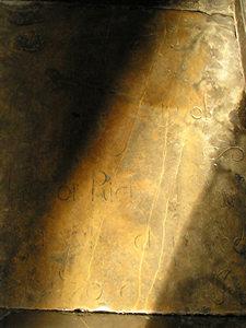 Stone floors, Holy Trinity