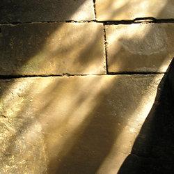 Sunlight on stone