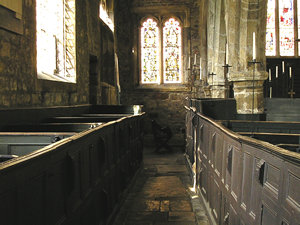 Interior view – Holy Trinity, Goodramgate