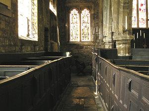 Interior view – Holy Trinity, Goodramgate