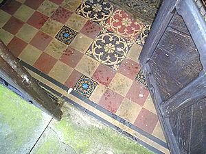 St Edmund, Knapton, porch – 2
