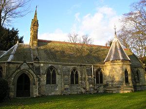 View of St Edmund, Knapton