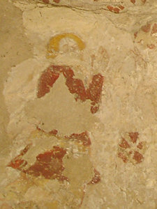 Medieval wall painting, Rillington church