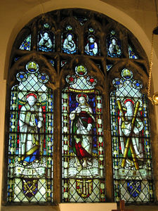 East window, Rillington church