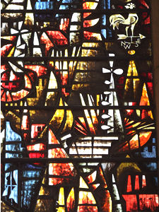 Harry Stammers' window, St Martin le Grand
