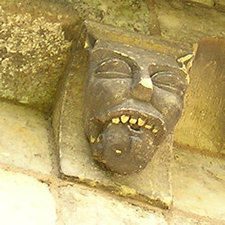Carving – south wall, St Mary, Kirkburn, Yorkshire