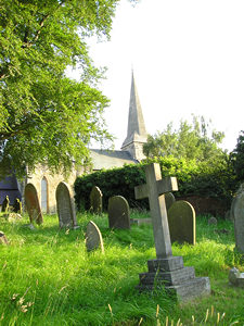 St Stephen's, Acomb, from the churchyard