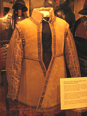 Buff coat of Sir Thomas Fairfax, Castle Museum, York