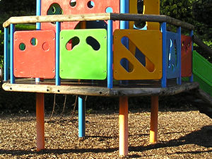Play equipment, Homestead