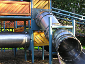 Play equipment, Homestead Park